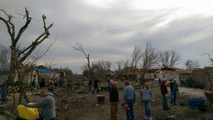 2015 North Texas Tornadoes Clean-up